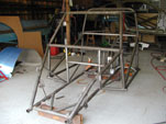 Front shot of the bare chassis
