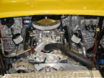Oct., 2010 - We replaced the laser etched valve covers with vintage Corvette ones.