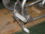 olting on the shifter side rear-set