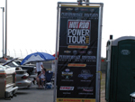 The Hot Rod Power Tour sign