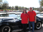 Susan & Dave by the Corvette